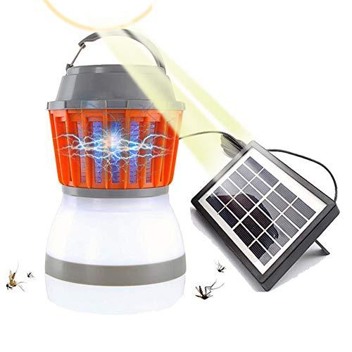 BZLEK Mückenkiller, Solar/USB Laden Insektenkiller, Beleuchtung, Effiziente Mückenbekämpfung, Haushalt Mückenschutzlampe