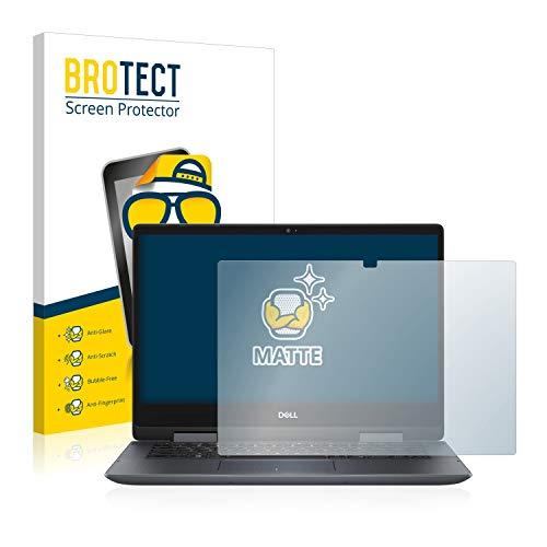 BROTECT Entspiegelungs-Schutzfolie kompatibel mit Dell Inspiron 14 5482 Bildschirmschutz-Folie Matt, Anti-Reflex, Anti-Fingerprint