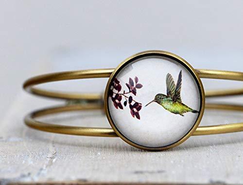 Armreif ~ Kolibri ~ größenverstellbarer Armreif