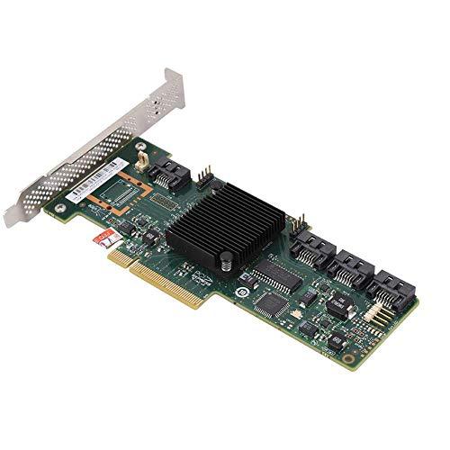 Bewinner 9212-4i 2 Modell IR/IT 4-Port Array-Karte für Windows 10/8/7, 6-Gbit PCI-E x8 / x16 8 Tbit-Festplatten Support Karte, Einschließlich SATA und SAS - Plug & Play(IT)