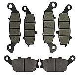 2003-2005// SV650 All Models 2003-2014// DL650 V-Strom 2004-2011 All Models Semi metal AHL-Kit Motocicleta Pastillas de freno para SV400