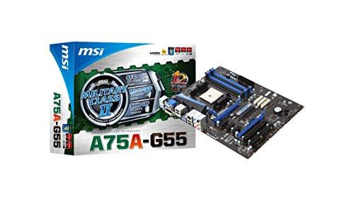 MSI A75A-G55 AMD Hudson D3 Socket FM1 ATX - Placa