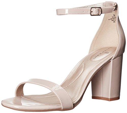 Bandolino Footwear Womens Armory Heeled Sandal, Pink, 8