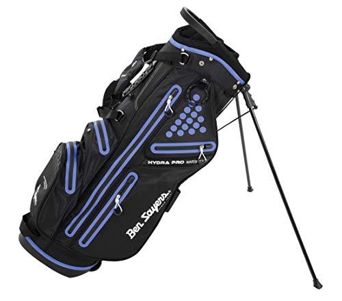 Ben Sayers Hydra Pro Waterproof Golftasche, schwarz/violett, Einheitsgröße