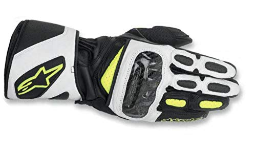 Alpinestars SP-2 Handschuhe, Farbe schwarz-weiss-neongelb, Grße M / 8