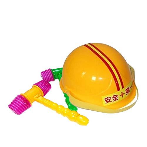ピコピコ ハンマー 2本 ヘルメット 1個 セット 叩いてかぶって ジャンケンポン ゲーム 宴会 余興 遊び [waschosen ワズチヨ] (ハンマー2個 ヘルメット1個 セット マルチ)