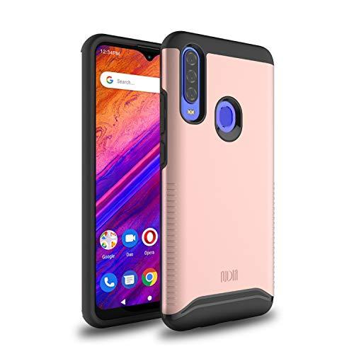 "TUDIA DualShield Designed for BLU G9 Pro Case/BLU Vivo XII -6.3"" Case, [Merge] Heavy Duty Protection Slim Hard Case for BLU G9 Pro/BLU Vivo XII (Rose Gold)"