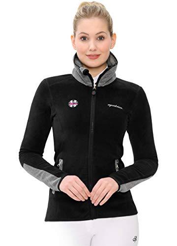 SPOOKS Lindah Fleece Jacket (Farbe: Black; Größe: M)
