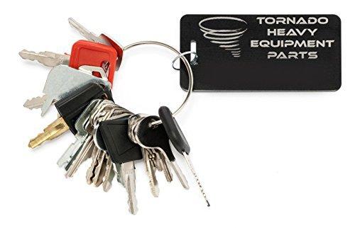 18 Keys Heavy Equipment/Construction Ignition Key Set