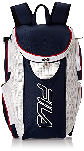 Fila Ultimate Tennis with Shoe Pocket, Red/White/Blue, One Size
