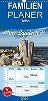 Meer-Landschaft - 12 Monate Schleswig Holstein - Familienplaner hoch (Wandkalender 2022 , 21 cm x 45 cm, hoch): Zwoelf wunderschoene Landschaftsmomente aus Schleswig Holstein (Monatskalender, 14 Seiten )