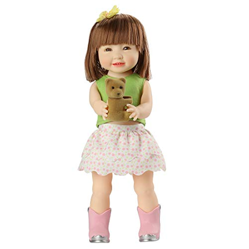 Doli Yearning 14-inch Adorable Doll with Casual Wear and A Surprise Little Bear Fashion Gorgeous Doll for Ages 3+ Interactive Playtime BPA Free Safety Product Well-Designed Collectable Box…