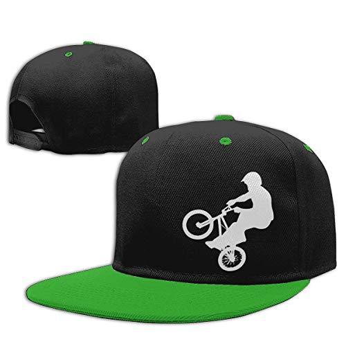 Adgjhbvn Unisex Boys and Girls Baseball Cap BMX Adjustable Snapback Sun Hat Gorras de Hip Hop de béisbol