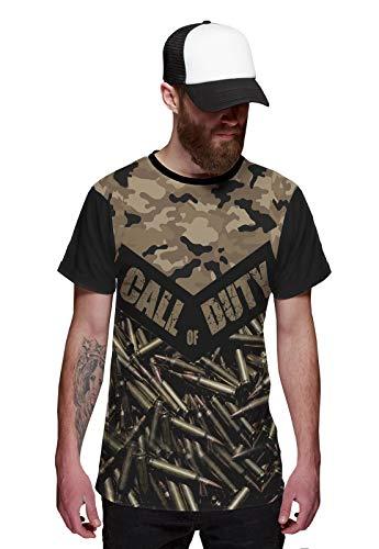 Camiseta Call of Duty Munição Estilo Camuflagem