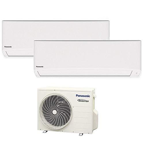 Climatizzatore dual split serie TZ super compatta R32 PANASONIC 5000+12000 - WiFi integrato A++