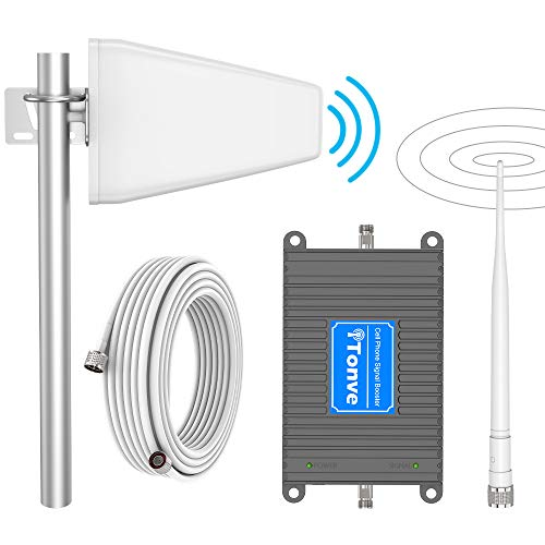 Verizon Cell Phone Signal Booster Amplifier for Home 4G LTE Cell Signal Booster Verizon Mobile Signal Repeater 700Mhz FDD Band13, Boosts 4G LTE Data&Voice, Covers 2000 sq ft Support Multiple Devices