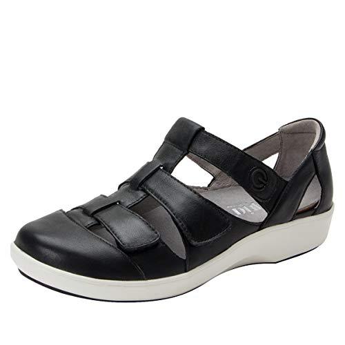 Alegria TRAQ Treq Womens Smart Walking Shoe Black 8 M US
