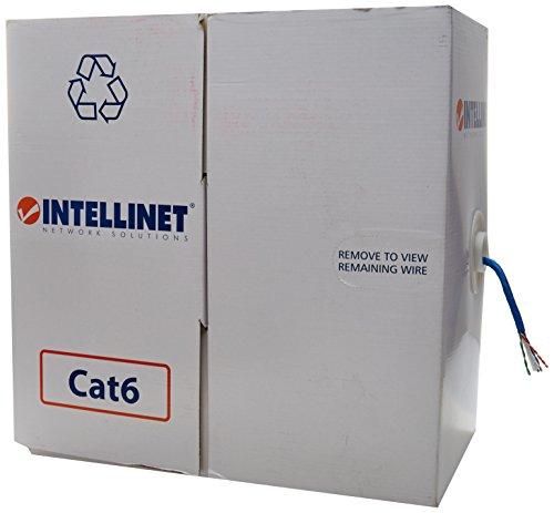 bobina de cable utp cat 5e exterior fabricante Intellinet