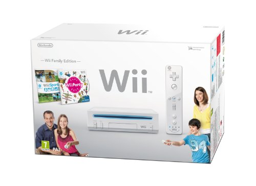 Console Nintendo Wii - White + Wii Sports + Wii Party [import anglais]