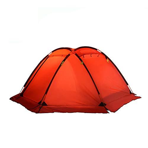 AOGUHN tent - kogeltent multi-persoons outdoor familie camping camping bergbeklimmen regendicht 4 persoons dubbeldeks tent
