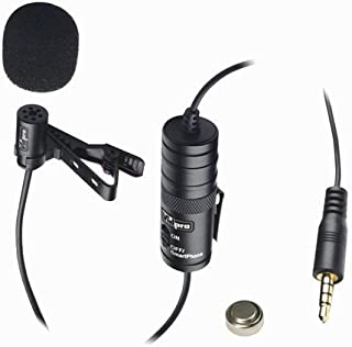 کانن EOS Rebel T5i دوربین دیجیتال میکروفون بیرونی Vidpro XM-L میکروفون هدست Lavalier - 20 'کابل صوتی - نوع مبدل: خازن الکترو