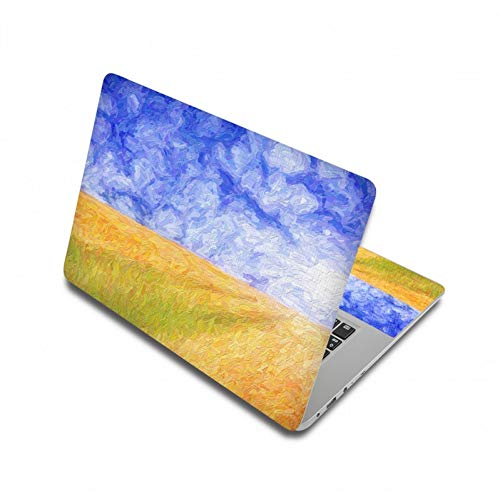 HUATULAI Laptop Skin Blume 3D-Druck Aufkleber Notebook Aufkleber 13 15 15,6 Zoll Laptop Skin Für Computer Laptop Skin