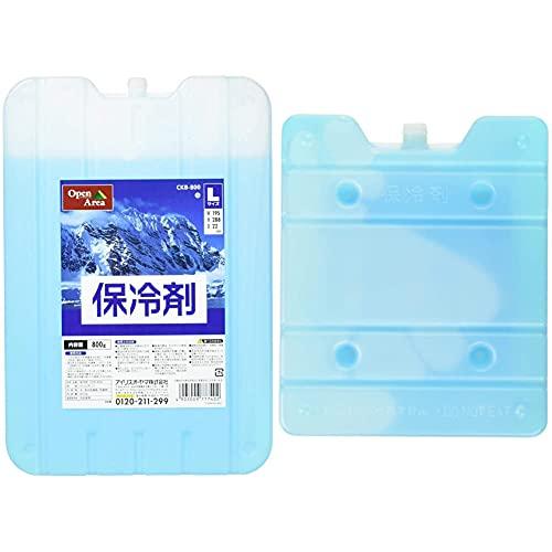 アイリスオーヤマ 保冷剤 ハード CKB-800 【3個セット】 & 保冷剤 ハード CKB-500 【5個セット】【セット買い】