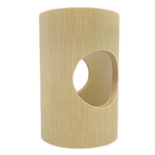 AchidistviQ Juguetes de tubo de túnel para hámster, casita de madera para...