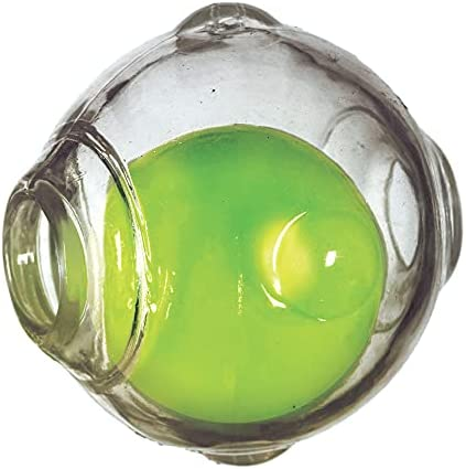 Clear rubber ball _image1