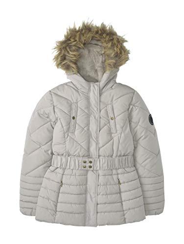 TOM TAILOR Mädchen Jacken & Jackets Winterparka mit Kapuze Silver Cloud|Gray,140