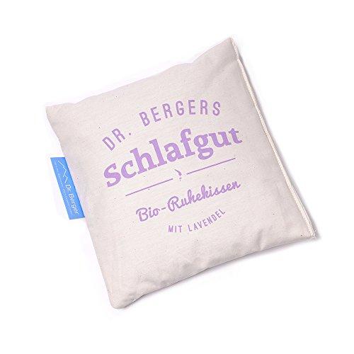 """Original Dr. Berger Bio-Lavendelblütenkissen """"Schlaf gut"""" 19x19cm"""