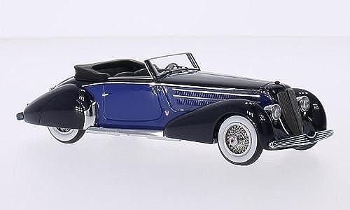precios mas baratos Duesenberg Jarno GRABER Converdeible, negro     azul, 1930 , Coche DE Modelo, Preparado, GLM 1 43  promociones de equipo