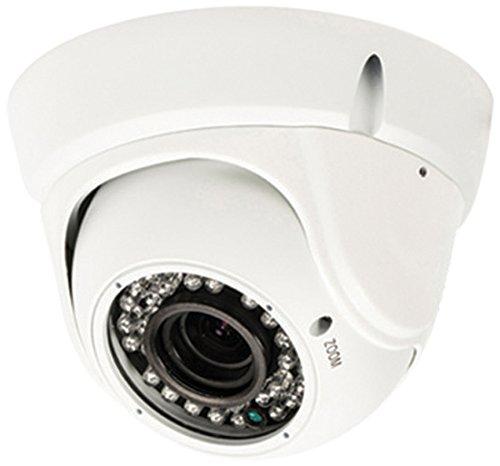 König SAS-CAM3210 Dome-Überwachungskamera mit Zoomobjektiv weiß