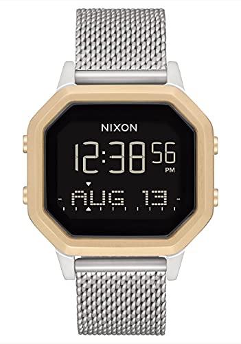 Nixon Reloj Digital para Mujer de con Correa en Acero Inoxidable A12721431-00