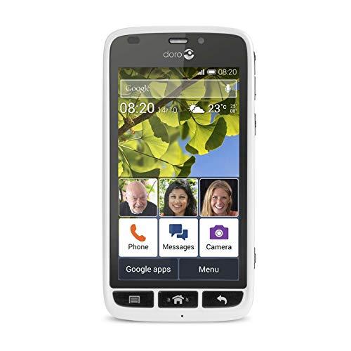 Doro Liberto 820 Mini SIM Libre teléfono móvil sin Cuna -En Blanco y Negro