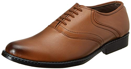 Centrino Men's Brown Formal Shoes - 8 UK/India (42 EU)(9383-002)