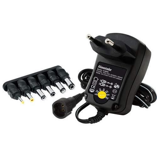 TM Electron TMUAD066 - Fuente de alimentación regulable, Potencia máxima: 7,2W, Color Negro