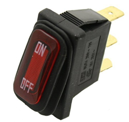 Razor On/Off Switch for Razor E100, E200, E300, Crazy Cart, eSpark, GF, Drifter, Dune Buggy