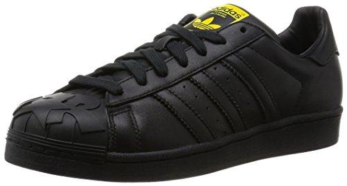 adidas Superstar Pharrell Schuhe 3,5 Black/Black/Yellow