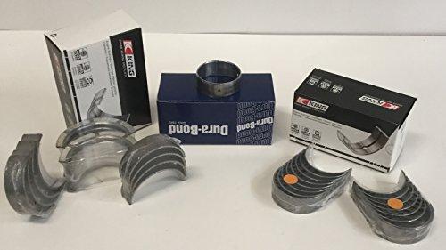 2003-2007 Chevy Pontiac 4.8 4.8L 5.3 5.3L 5.7 5.7L LS1 LS6 KING Rod+Main+Cam Bearing KIT (STD/STD Bearings)