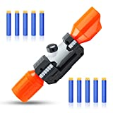 TEANTECH Scope Sight for Nerf Gun,Plastic Tactical Scope Sight Attachment with Reticle Targeting Accessory for Modify Toy Kids Gift