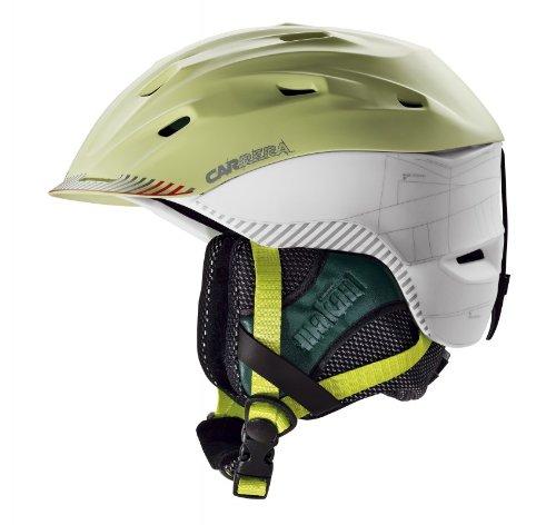 Carrera Makani 2.13 Mountain Skihelm Lime White Matte, Helmgröße:55-59 cm