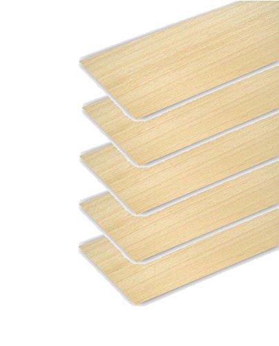 Pack 5 planchas de madera de balsa de 2mm de primera calidad. 31975x5