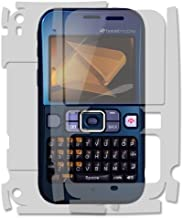 Skinomi Full Body Skin Protector Compatible with Sanyo Juno (Screen Protector + Back Cover) TechSkin Full Coverage Clear HD Film