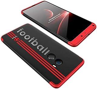 حافظة هاتف شاومي مي مكس 2، حافظة حماية كاملة بتصميم رفيع للغاية من جي كيه كيه اصدار خاص لكرة القدم بطباعة ثلاثية الابعاد