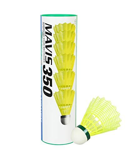 YONEX Badminton Federball Mavis 350 (Farbe/Größe: gelb/Slow-grün)
