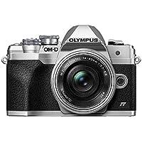 Olympus OM-D E-M10 20MP 4K Ultra HD Digital SLR Camera with 14-42mm Lens (Silver)