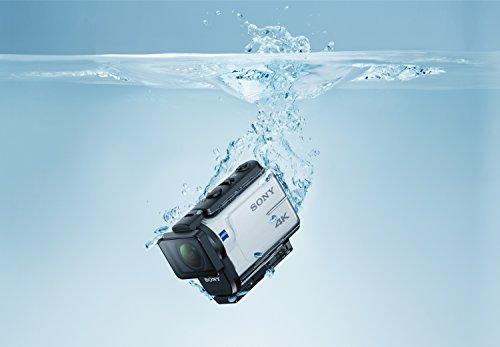 Sony FDR-X3000R 4K Action Cam mit BOSS Live View Remote Fernbedienung – weiß - 22