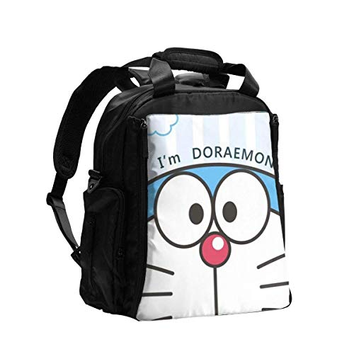 IUBBKI Diaper Bag Backpack Doraemon Lovely Multifunction Travel Back Pack Shoulder Bag Maternity Nappy Baby Bag with Changing Pad