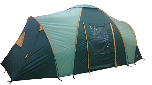Wenzel Burrator 6–Tente 6 Personnes-Vert